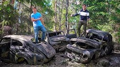 Autofriedhof  Båstnäs: Die vergessenen Oldtimer des zweiten Weltkriegs!