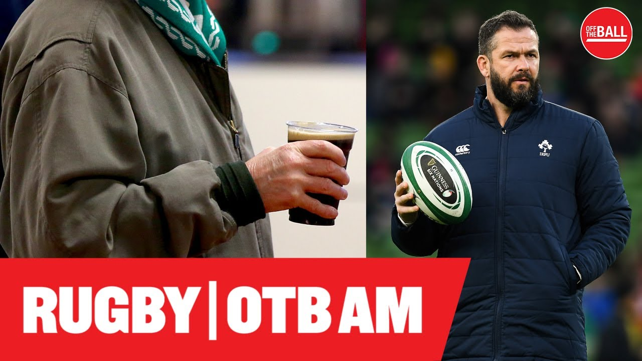 Andy Farrell S Next Xv Why Boozing