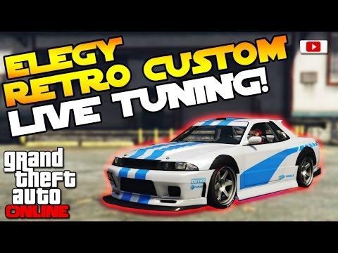 GTA 5 Online Import/Export Update: 🛠😨Annis Elegy Retro Custom Live Tuning!😨🛠 [Paul Walkers Auto!]