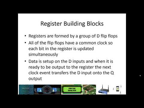 Registers and Counters Video 1