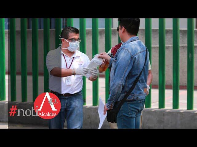 NotiAlcaldes: Gobierno municipal de Nezahualcóyotl presenta medidas contra el coronavirus