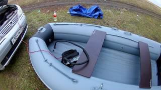 трохи про нову човні АДМІРАЛ 330 НДНД.звіт з рибалки 10.10.18. прикмети збуваються.!