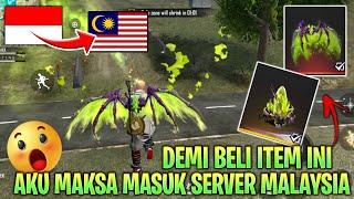 MAKSA MASUK SERVER MALAYSIA BUAT BELI TAS SAYAP DRACO HIJAU YANG BELUM RILIS DI SERVER INDO