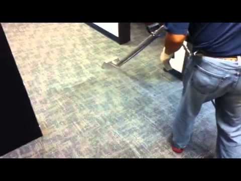 Cleaning Commercial Carpet Tiles