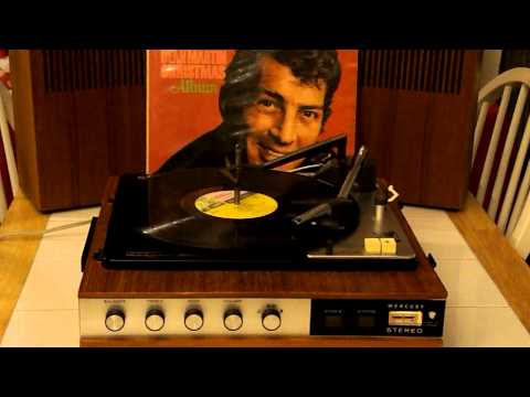 MERCURY PORTABLE STEREO RECORD PLAYER -- MADE IN GERMANY -- WINTER WONDERLAND -- DEAN MARTIN
