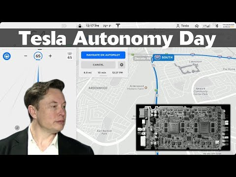 Tesla Autonomy Day 2019 – Full Self-Driving Autopilot – Complete Investor Conference Event