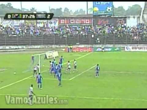 Gol de Edison Mendez (0-2). Espoli - Emelec 26/10/2011