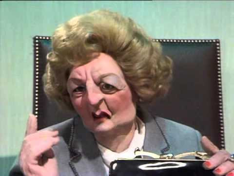 spitting image series 1  episode 8