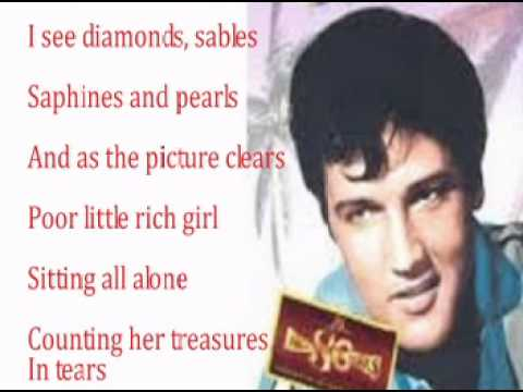 Elvis Presley-A House That Has Everything-(With Lyrics)