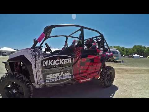 KICKER AND SSV WORKS - POLARIS GENERAL - STEREO SYSTEM