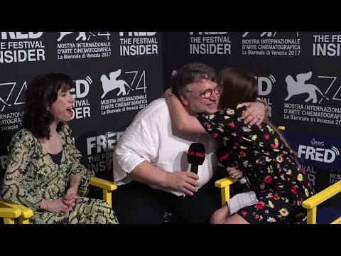 Guillermo Del Toro and Sally Hawkins - THE SHAPE OF WATER - 74 Venice Film Festival