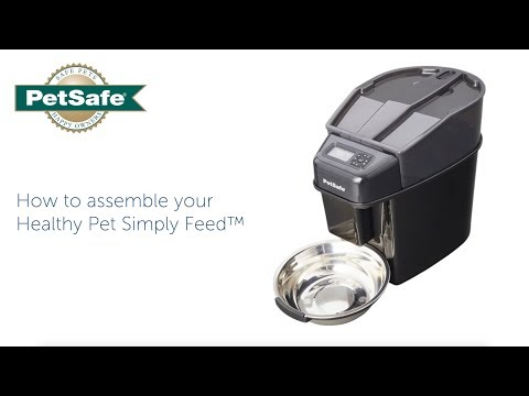 How To Assemble the PetSafe® Healthy Pet Simply Feed™