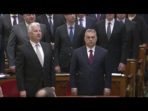 Képviselői eskütétel, Áder János beszéde - Országgyűlés 2018.05.08.