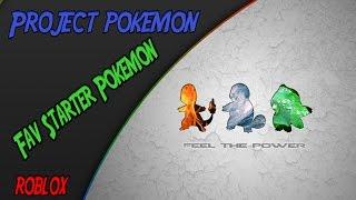 Roblox   Best Starter Pokemon?!?!   Project Pokemon Lets Play 1   iBeMaine