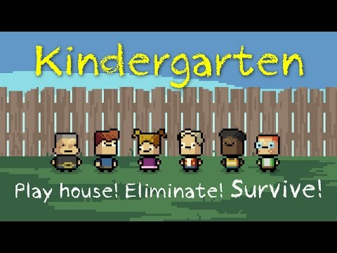 Ep 1 - Kindergarten - Early Access gameplay (Let's play Kindergarten Steam Early Access)