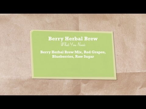 Berry Herbal Brew