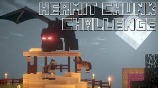 Hermit Chunk Challenge -19- Dragon fight! She said yes!