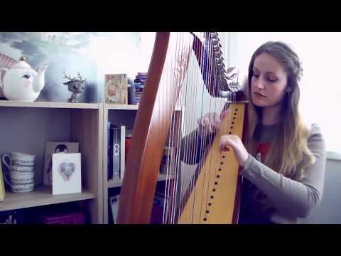 Elder Scrolls III - Morrowind Theme (Harp Cover)
