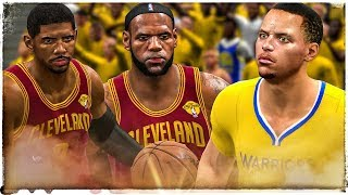NBA Live 14 🏀 Kyrie & Lebron Ballin' Hard on The Warriors!!! This game is still fun!