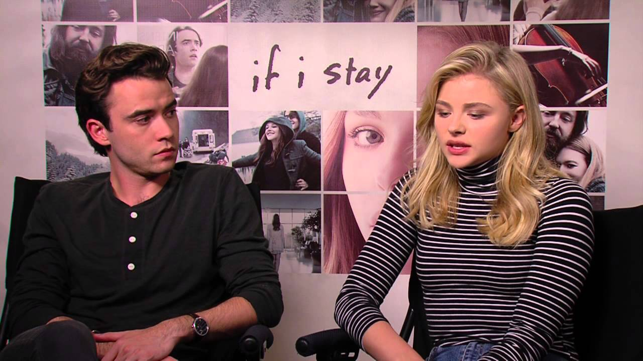 If I Stay Chloe Grace Moretz Jamie Blackley Official Movie Interview
