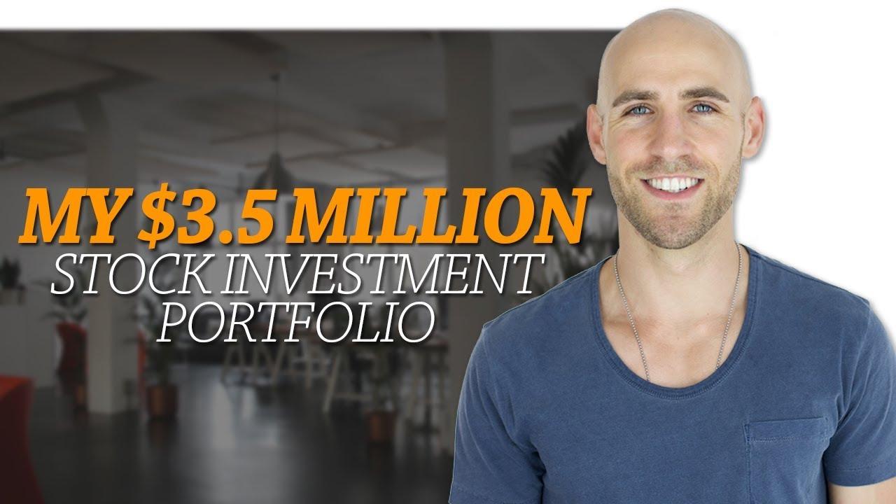 my 3 5 million stock investment portfolio how i generate 8000