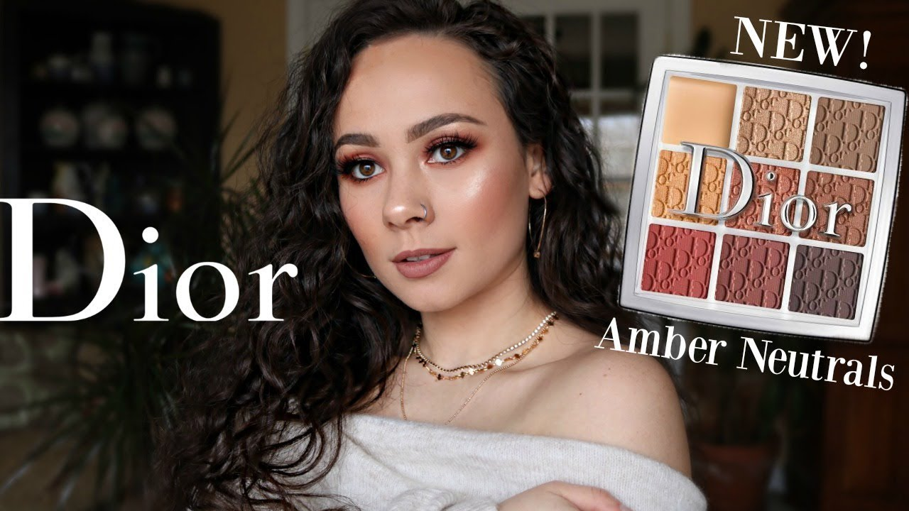 New Dior Amber Neutrals Backstage Eye Palette Review