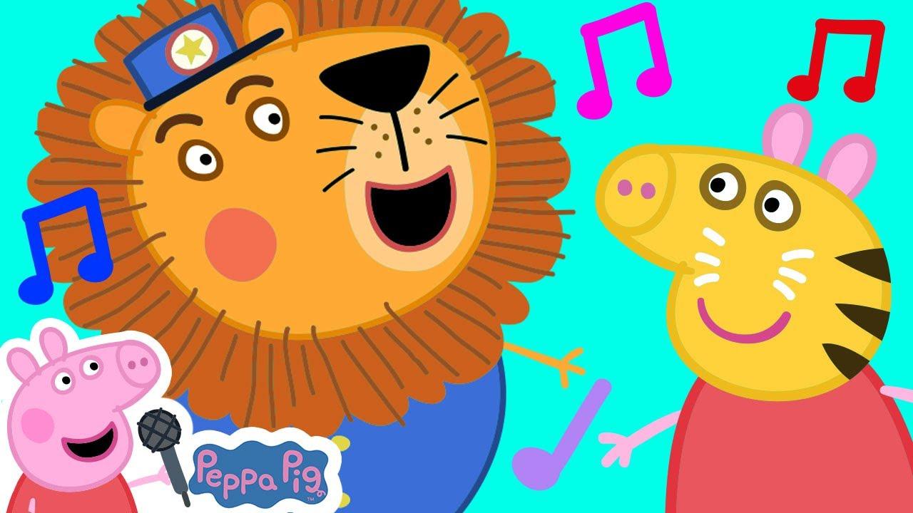 Peppa Pig and Animal Sounds Song | Peppa Pig Songs | Peppa Pig Nursery Rhymes & Kids Songs