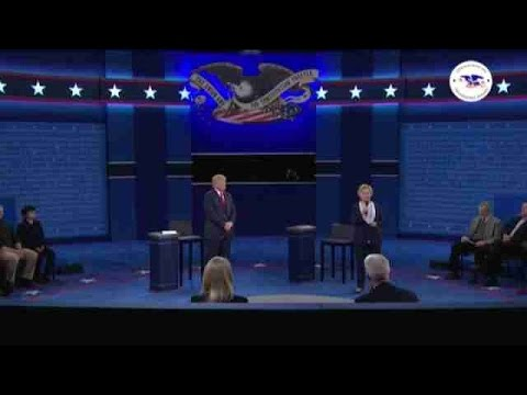 Trump e Hillary levam seus ataques ao extremo em debate na televisão