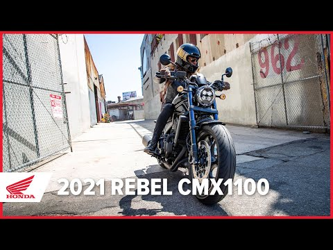 The New 2021 Rebel CMX1100 Launch Film – All Day Rebel