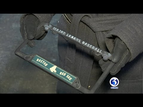 Video: Local Woman Warning Drivers Of License Plate Frame Law After Receiving Ticket