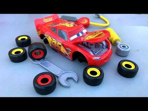 Thumbnail: Disney Cars 3 Toys Lightning McQueen Thomas and Friends Trains Percy