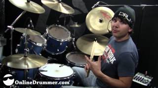 Fun with Four on the Floor - Drum Lesson - Nate Brown
