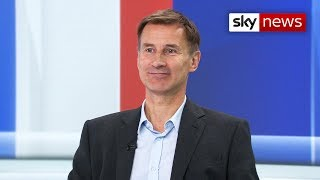 Hunt: 'If we can get a deal, that is the only way to avoid a general election'