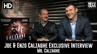 Joe Calzaghe & Enzo Calzaghe - Mr. Calzaghe Exclusive Interview