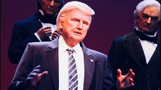 Donald Trump Hall of Presidents FULL SPEECH! FRONT ROW VIEW 2017 Update Magic Kingdom Disney World