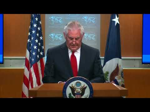 Rex Tillerson says goodbye, to step down March 31