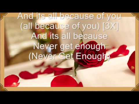 Because Of You ~ Ne-Yo (With Lyrics On Screen) - YouTube