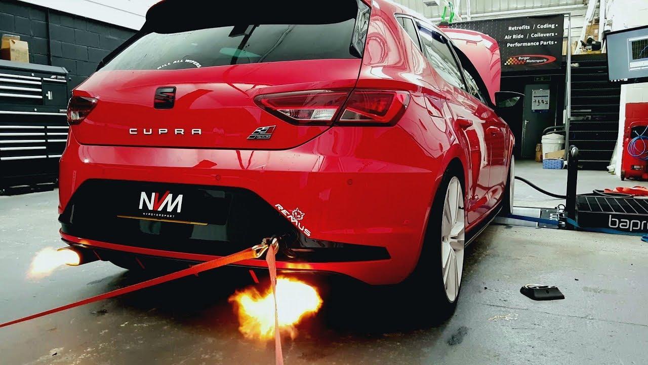 flaming seat leon cupra 280 stage 2 nv motorsport youtube. Black Bedroom Furniture Sets. Home Design Ideas