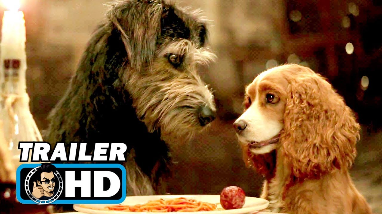 Lady And The Tramp Trailer 2019 Disney Live Action Movie Hd Youtube