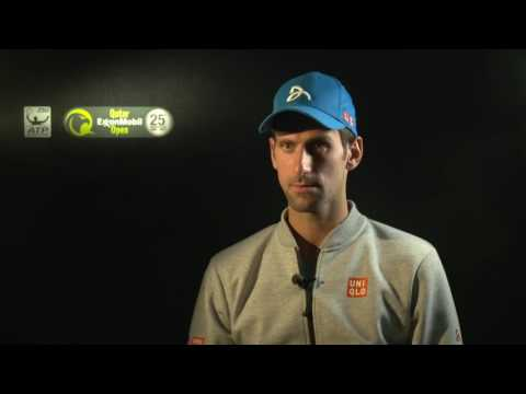 Djokovic Discusses Saving Five Match Points In Doha