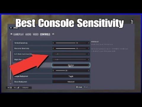 The Best Console Sensitivity - Rainbow Six Siege