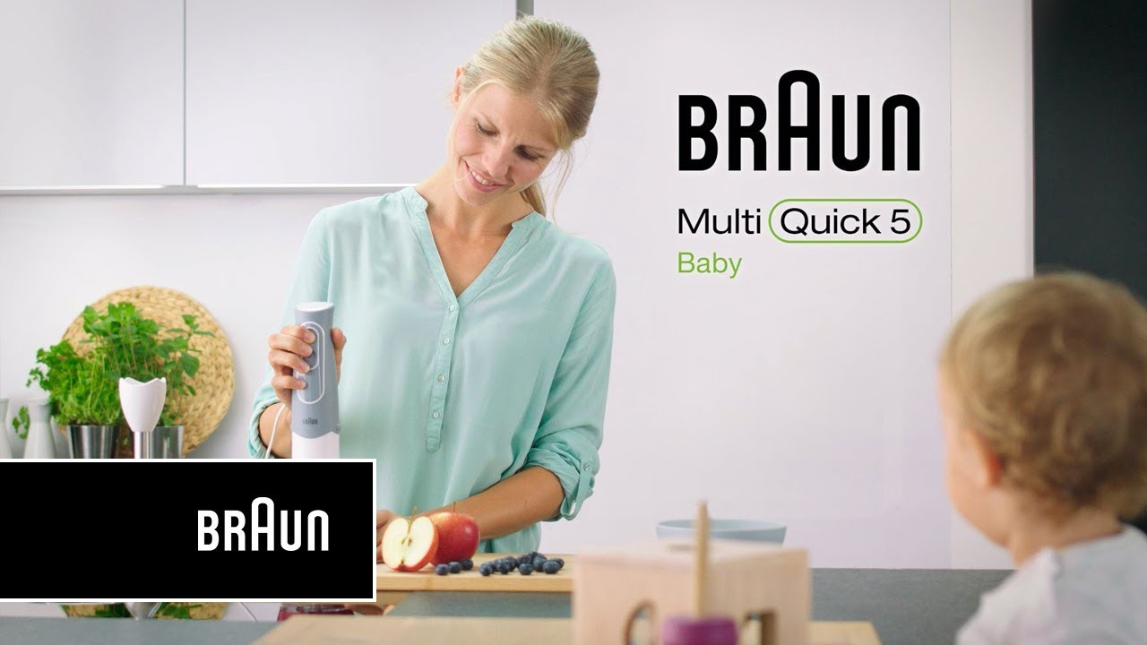 Braun MultiQuick 5 Baby | Feature Videos | Easy Click