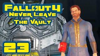 Fallout 4: Vault-Tec Workshop DLC - Never Leave The Vault Challenge - Part 23 - Sadbot Rambles