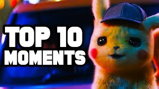 POKÉMON Detective Pikachu Trailer Review - Top 10 Pokemon Moments from the Trailer!