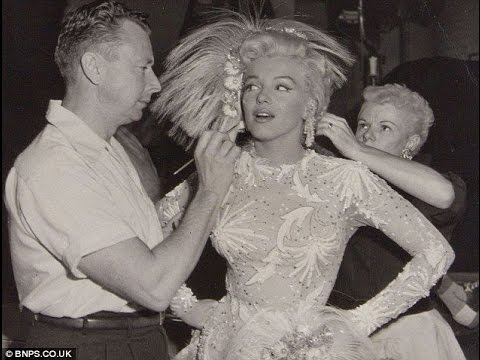 "Marilyn Monroe's make-up artist Alan  ""Whitey""  Snyder (makeup artist)"