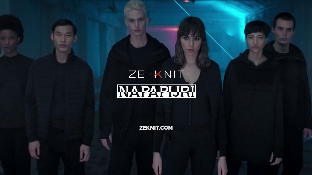 najnowszy projekt nowy autentyczny popularne sklepy Ze-Knit: the future according to Napapijri