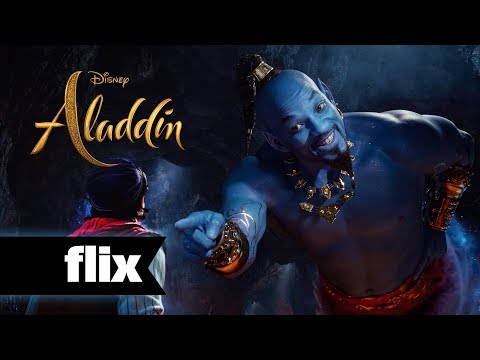 Aladdin - First Look At The Genie (2019)