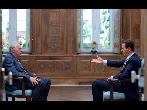 Bashar al-Assad Interview | Response to Alleged Idlib Chemical Attack and US airstrikes | AFP