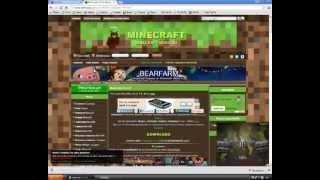 Видео урок Как установить майнкрафт на компьютер