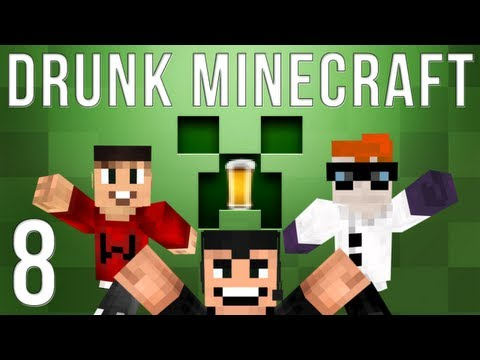 Drunk Minecraft #40 | CAST AWAY